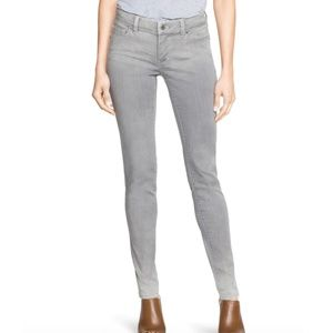 White House Black Market Skinny Leg Gray Jeans, 8R